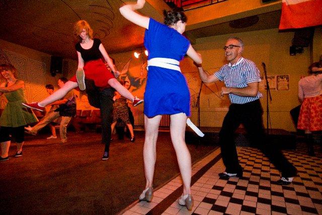 cocteau Lindy Hop dansen